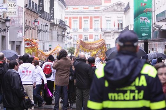 与马德里市政府合作组织首届春节庙会5